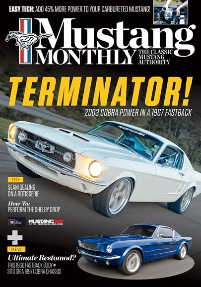 Mustang Monthly Cover - 10/1/2017