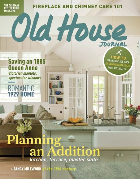 Old House Journal Cover - 10/1/2017