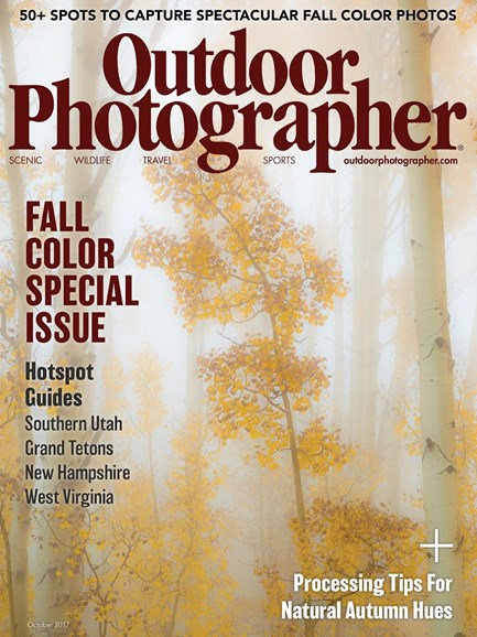 Outdoor Photographer Cover - 10/1/2017