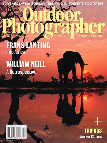 Outdoor Photographer Cover - 9/1/2017