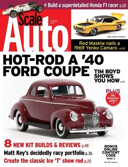 Scale Auto Magazine Cover - 10/1/2017