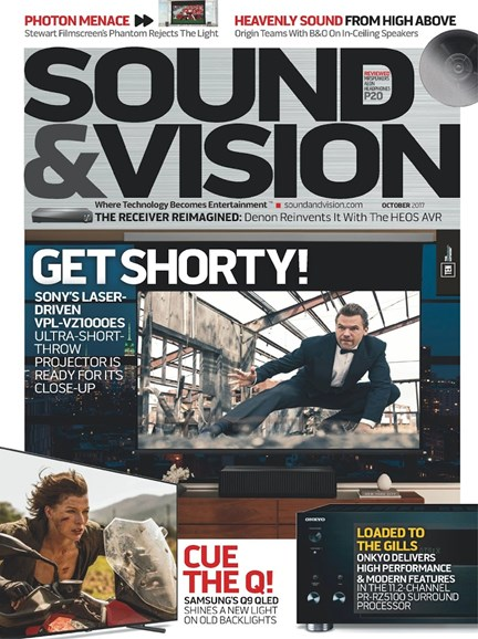 Sound & Vision Cover - 10/1/2017
