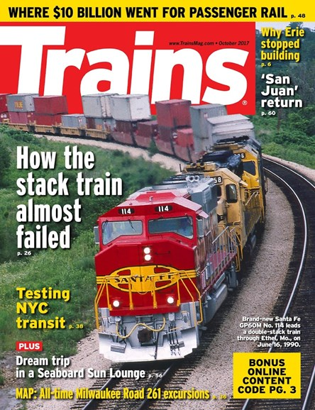 Trains Cover - 10/1/2017