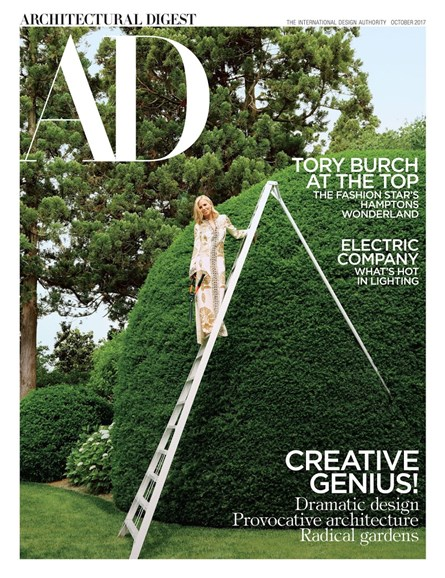 Architectural Digest Cover - 10/1/2017