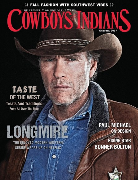 Cowboys & Indians Cover - 10/1/2017