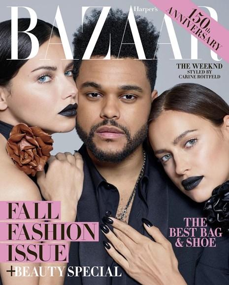 Harper's Bazaar Cover - 9/1/2017