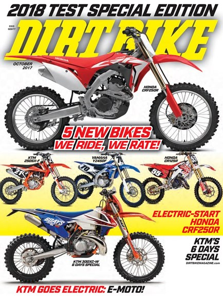 Dirt Bike Cover - 10/1/2017