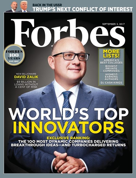 Forbes Cover - 9/5/2017