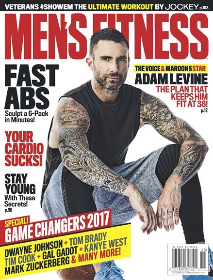 Men's Fitness Cover - 10/1/2017