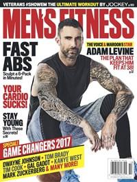 Men's Fitness Magazine | 10/1/2017 Cover