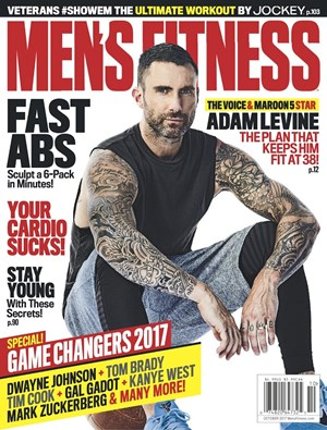 Men's Fitness Magazine | 10/1/2017 Cover