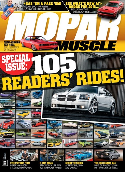 Mopar Muscle Cover - 12/1/2017