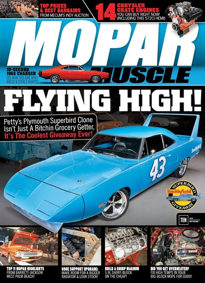 Mopar Muscle Cover - 11/1/2017