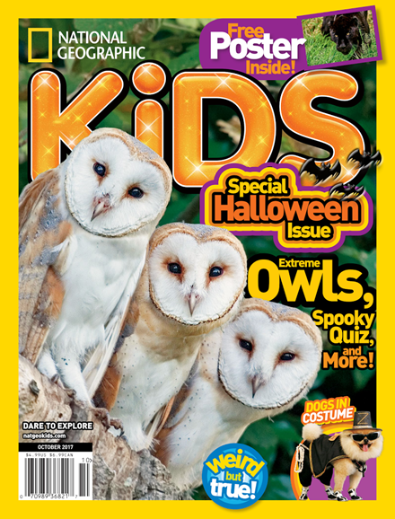 National Geographic Kids Cover - 10/1/2017