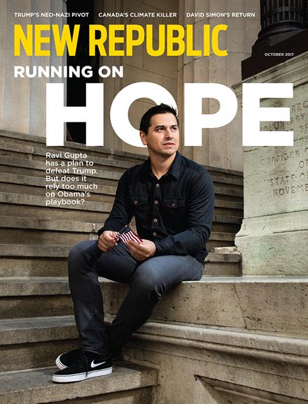 The New Republic Cover - 10/1/2017