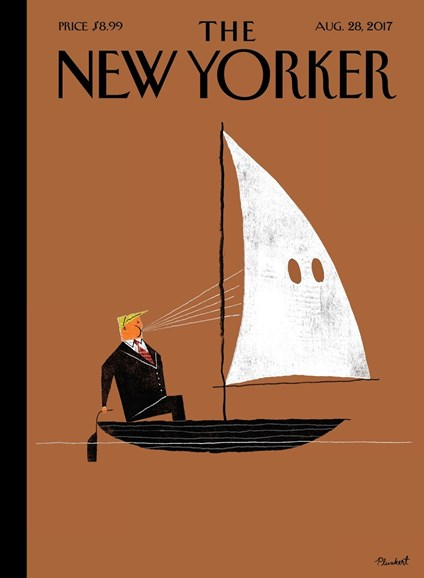 The New Yorker Cover - 8/28/2017