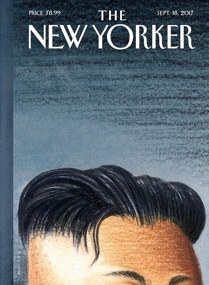 The New Yorker Cover - 9/18/2017