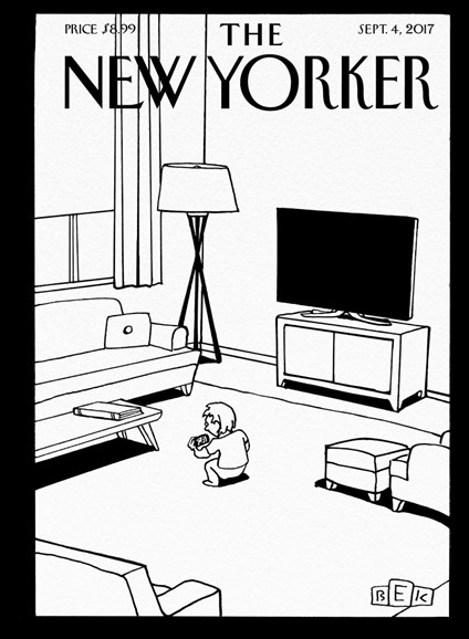The New Yorker Cover - 9/4/2017