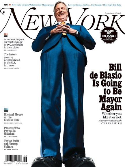 New York Magazine Cover - 9/4/2017