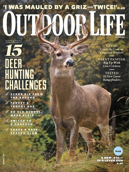 Outdoor Life Cover - 10/1/2017