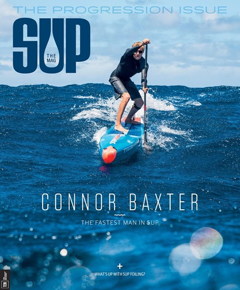SUP Magazine Cover - 9/1/2017