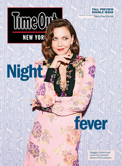 Time Out New York Cover - 8/23/2017