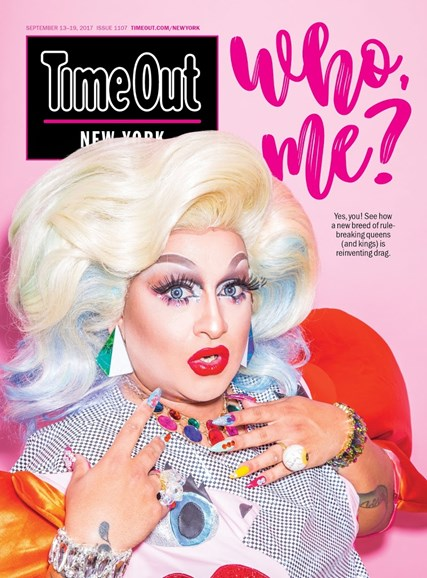 Time Out New York Cover - 9/13/2017