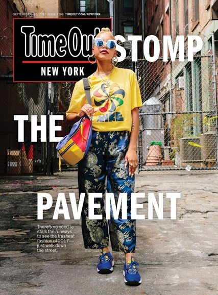 Time Out New York Cover - 9/6/2017