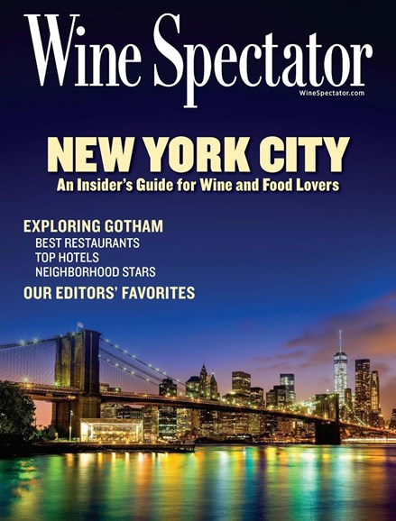 Wine Spectator Cover - 10/15/2017