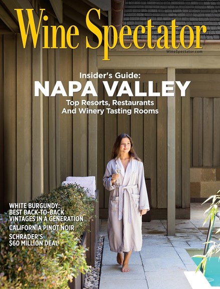 Wine Spectator Cover - 9/30/2017