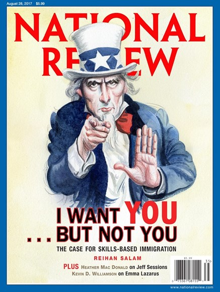 National Review Cover - 8/28/2017