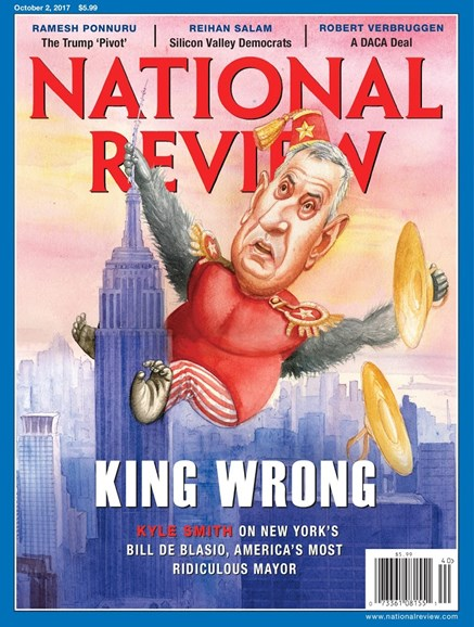 National Review Cover - 10/2/2017