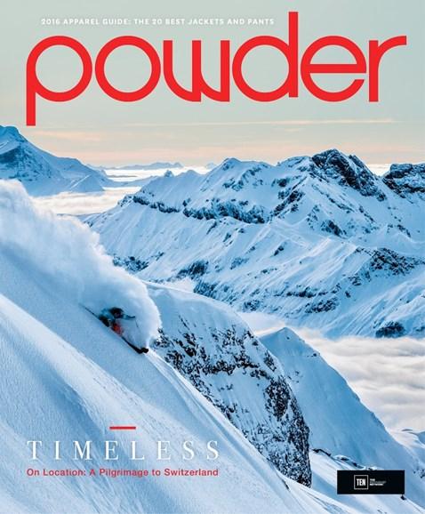 Powder Cover - 10/1/2015