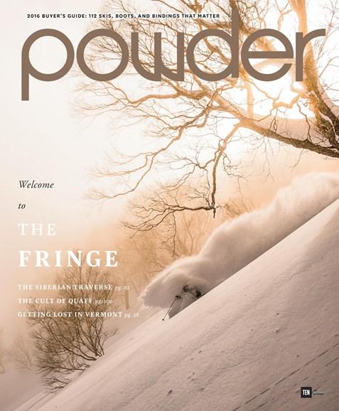 Powder Cover - 9/1/2015