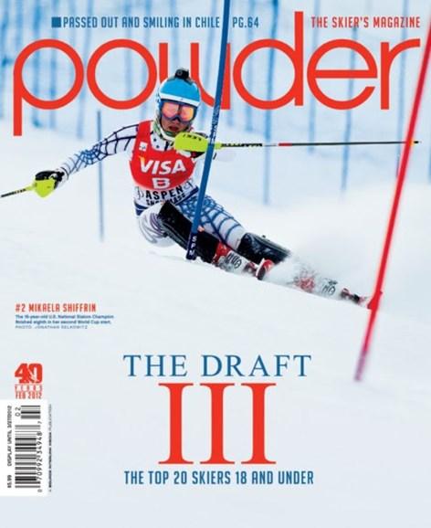 Powder Cover - 2/1/2012