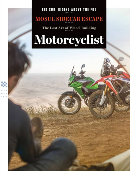 Motorcyclist Cover - 9/1/2017