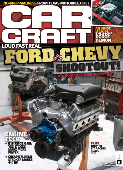Car Craft Cover - 11/1/2017