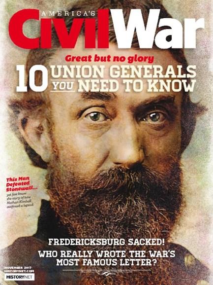 America's Civil War Cover - 11/1/2017