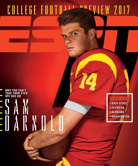 ESPN The Magazine Cover - 9/4/2017
