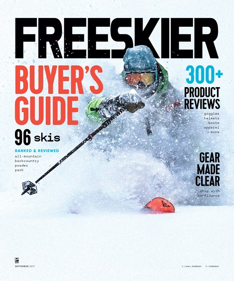 Freeskier Cover - 9/1/2017