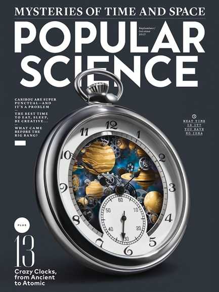 Popular Science Cover - 9/1/2017