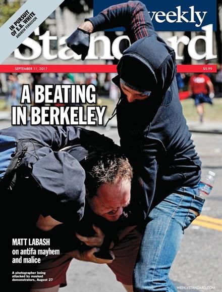 Washington Examiner Cover - 9/11/2017