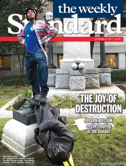 Washington Examiner Cover - 9/25/2017