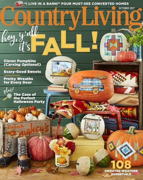 Country Living Cover - 10/1/2017