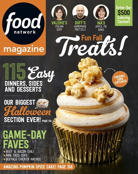 Food Network Cover - 10/1/2017