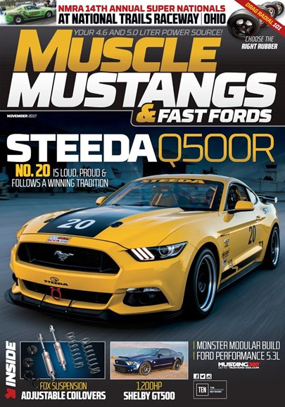Muscle Mustangs & Fast Fords Cover - 11/1/2017