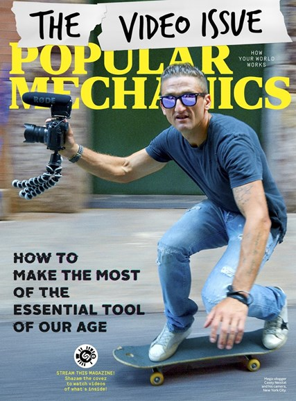 Popular Mechanics Cover - 10/1/2017