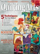 Quilting Arts Magazine 10/1/2017