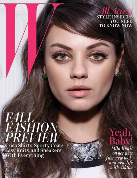 W Cover - 8/1/2014