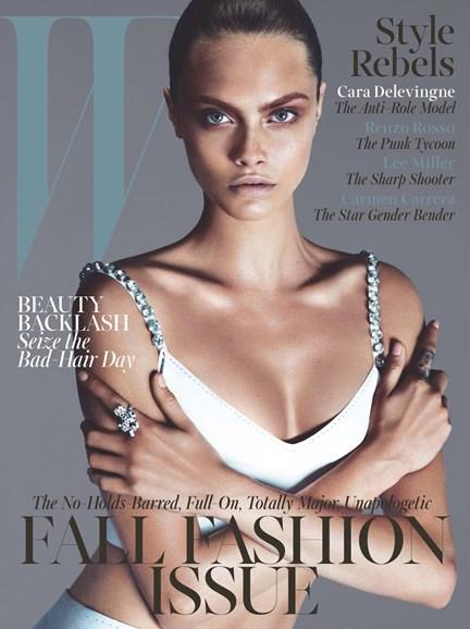 W Cover - 9/1/2013